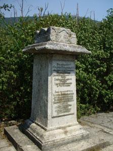 Место захоронения Бернардацци, Пятигорский некрополь. Фото автора