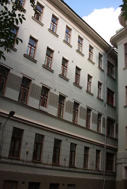 Дом на Большой Садовой, 10, где в 20-е годы прошлого века жил Михаил Булгаков