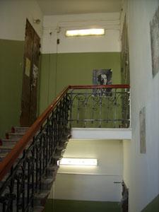 Подъезд в доме на Большой Садовой, 10, где жил Михаил Булгаков