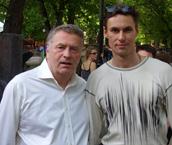 С вице-спикером Госдумы, лидером ЛДПР Владимиром Жириновским