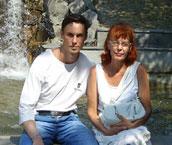 С мамой. Пятигорск